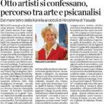 Otto artisti si confessano, percorso tra arte e psicanalisi Alessandra Lancellotti psicologo life coach psicoterapeuta