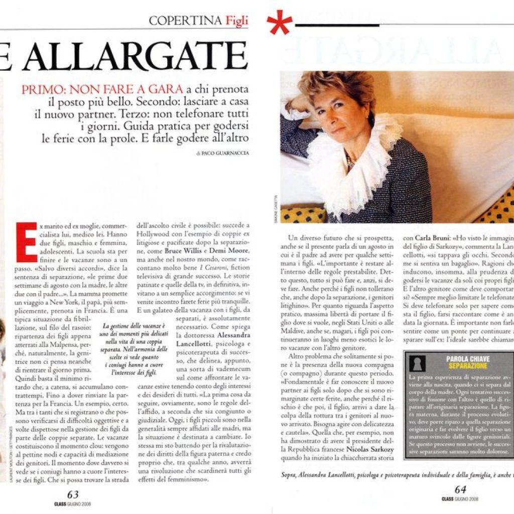 Bon ton delle vacanze allargate Alessandra Lancellotti psicologo life coach psicoterapeuta