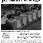 Un pienone a teatro per battere la droga Alessandra Lancellotti psicologo life coach psicoterapeuta