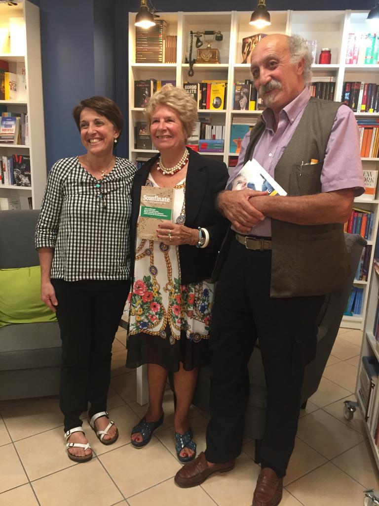 Emanuele Giordana autore di sconfinate Simona libreria la storia di crema
