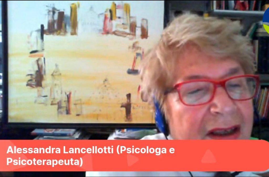 alessandra lancellotti chi ha paura del covid-19 sostegno volontari torino video